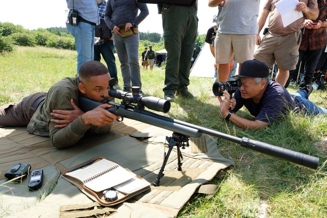 李安新片「雙子殺手」10月9日上映。圖/派拉蒙提供