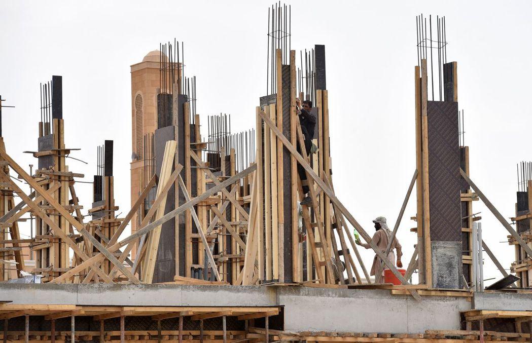 沙國近年來經歷嚴重的住房危機。 (法新社)