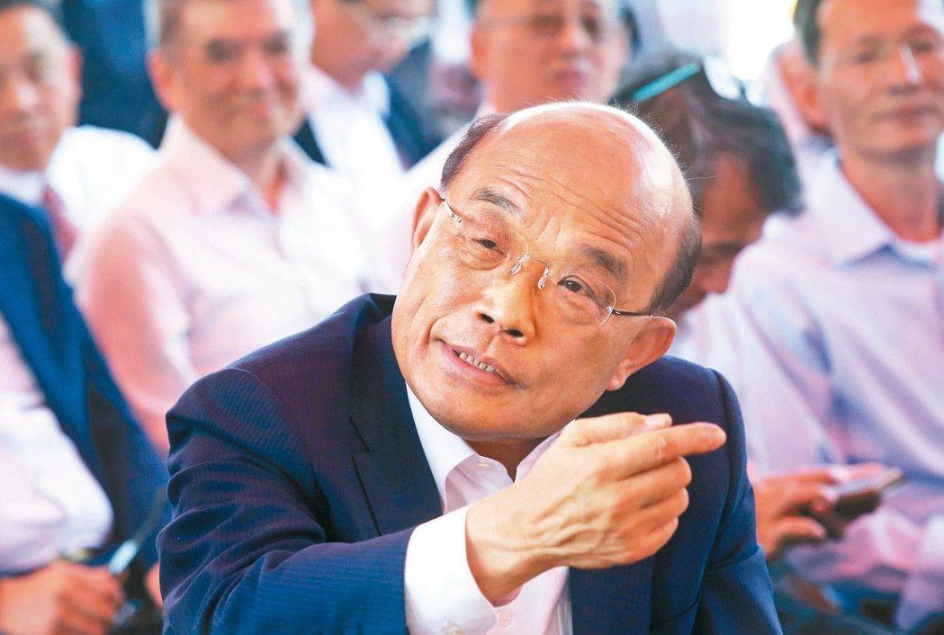 行政院長蘇貞昌17年前住處曾遭竊,損失180餘萬元現金。 圖/聯合報系資料照片