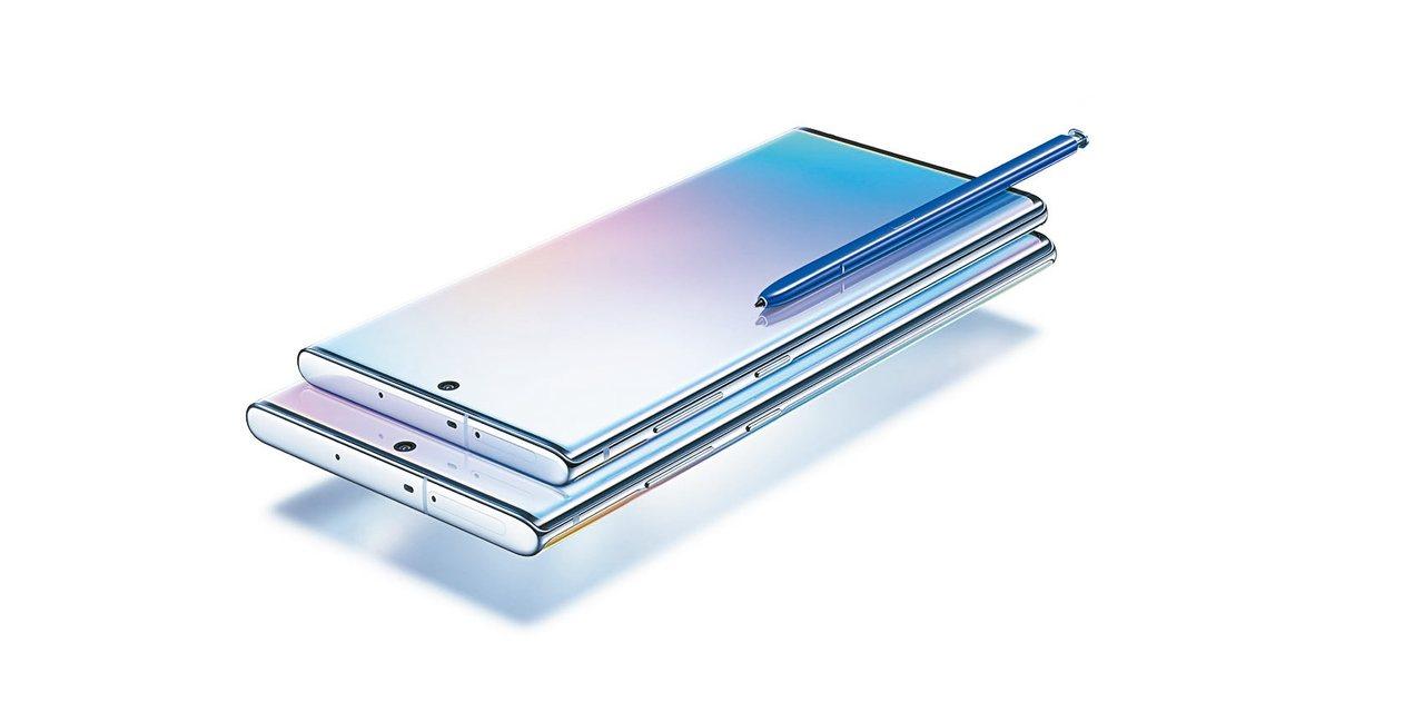 三星舉行Note 10系列全球發表會,Galaxy Note10系列推出星環白、...