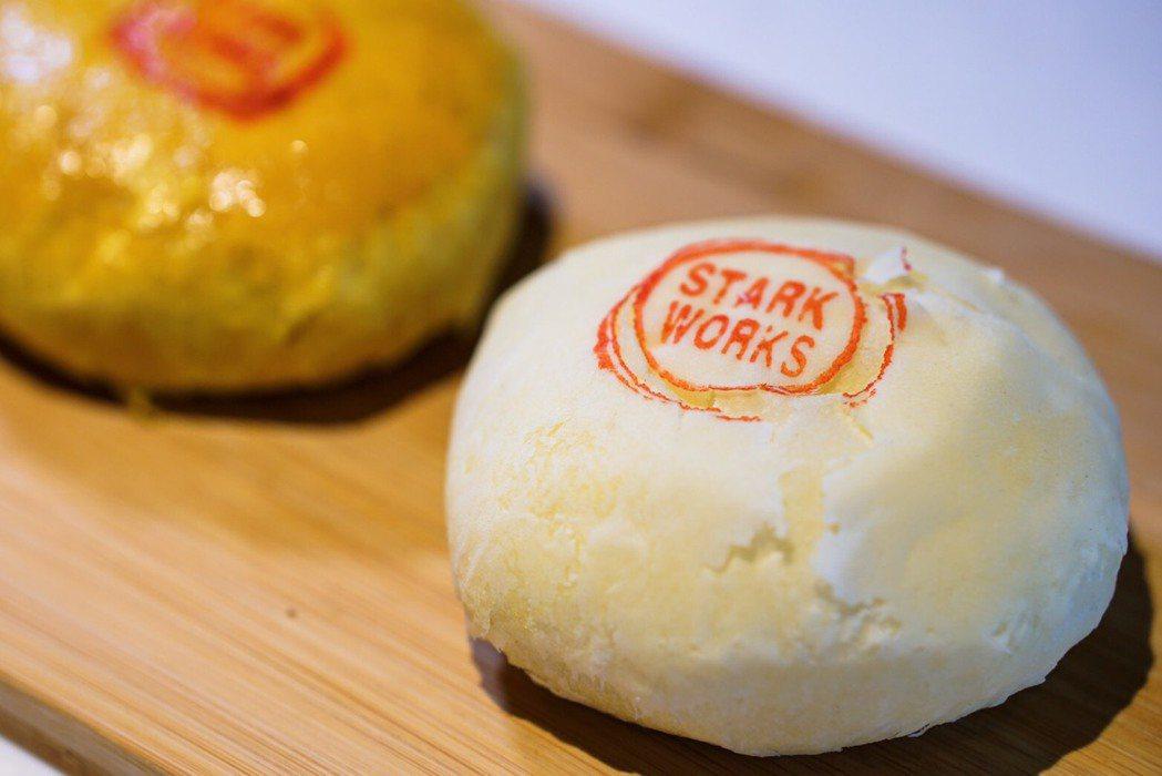 汐止40年餅店李記一頂好的餅皮可客製化印品牌名。 李記一頂好/提供