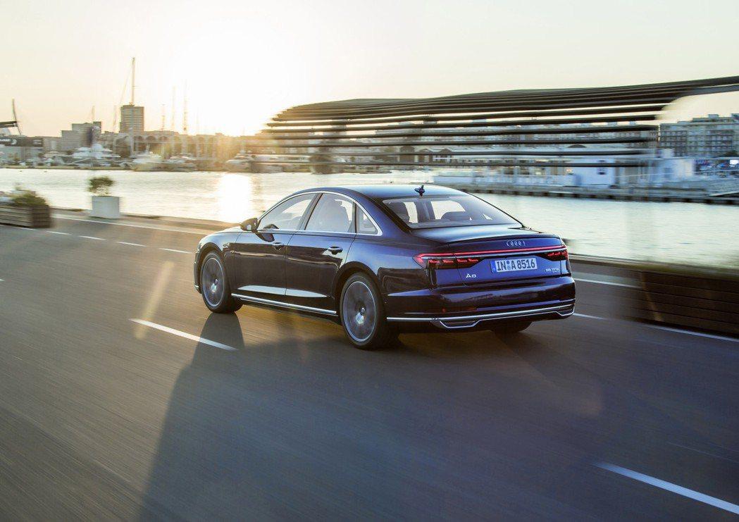 Audi A8。 圖/Audi提供
