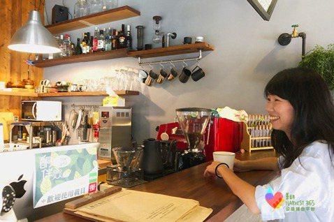 酮伴咖啡店長Rose在Discovey看到一支關於鯨鯊的紀錄片,從那時起愛上海洋...