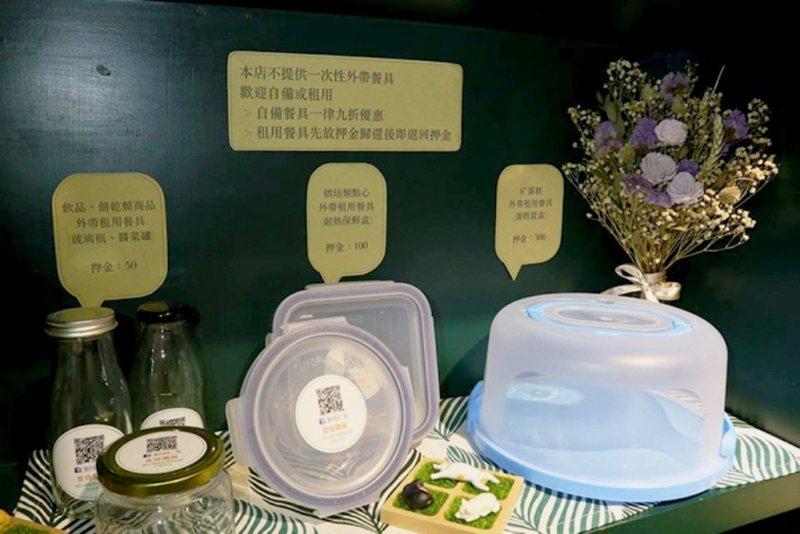 如果忘記帶餐具可以向酮伴租借,之後歸還時或許就比較會記得可以自備容器。 圖/酮伴...