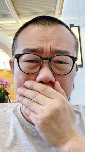 中國知名主持人塗磊。圖取自微博