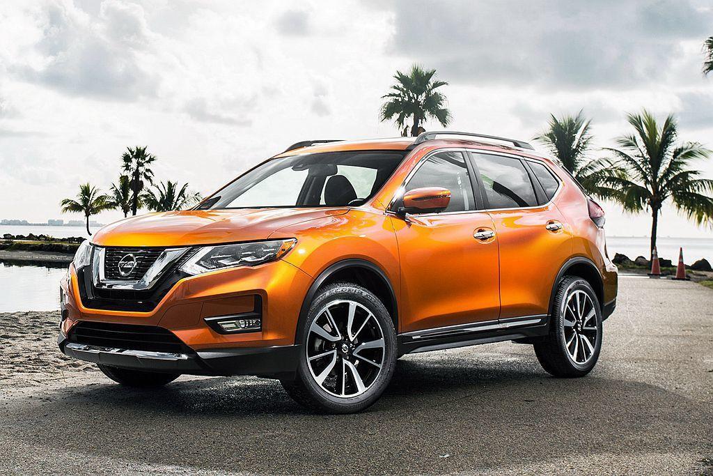 進入大改款前夕的銷售衰退階段,Nissan Rogue以17.5萬輛(-18.6...