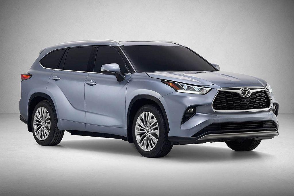 Toyota Highlander。 圖/Toyota提供