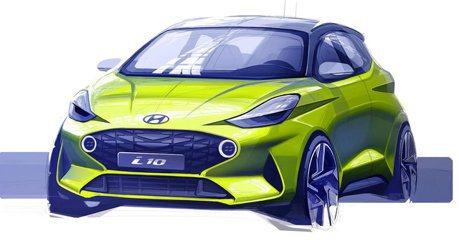 都會小車「變臉」預告 第三代Hyundai i10將於法蘭克福車展發表!