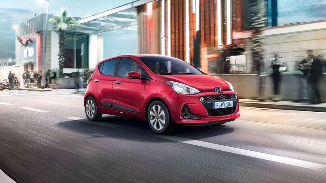 第二代外型樸實的都會小車Hyundai i10,與原廠在7日釋出的新世代i10設...