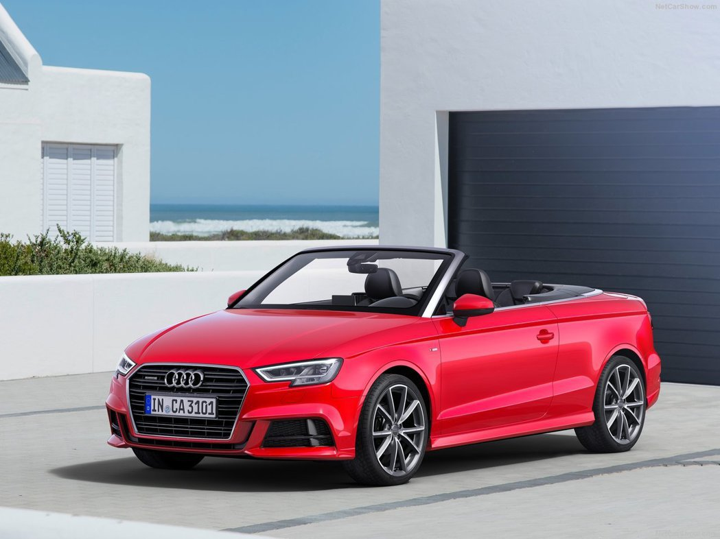 A3 Cabriolet。 摘自Audi