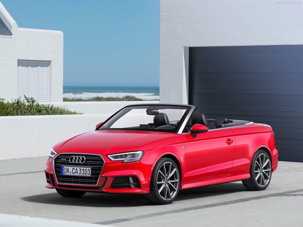 A3 Cabriolet。 摘自Audi