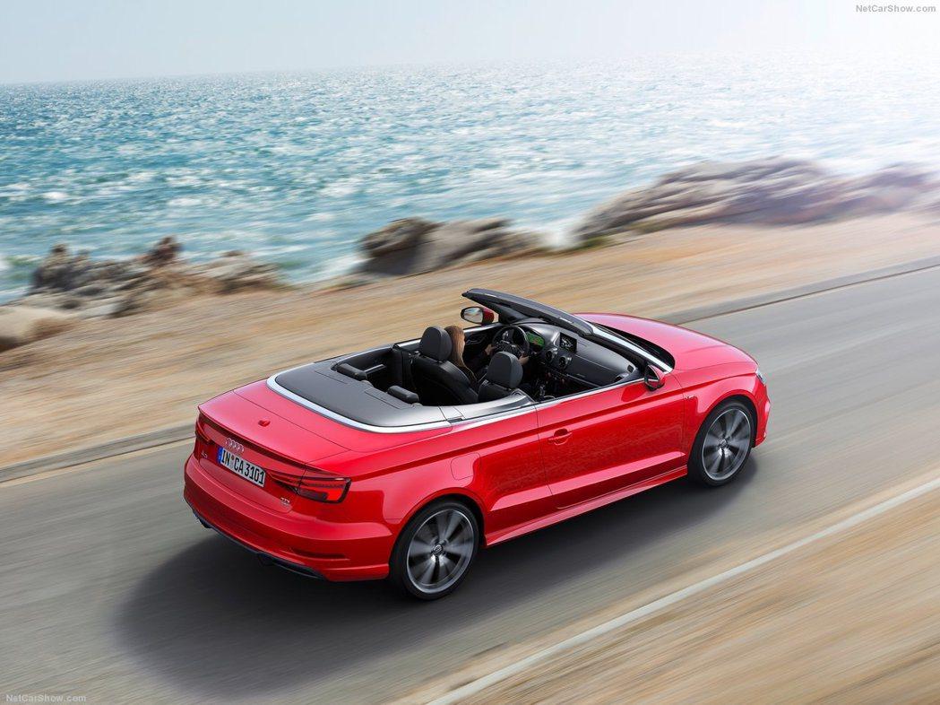 A3 Cabriolet為美國Audi最入門的敞篷車。 摘自Audi