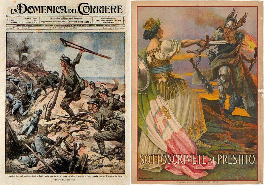 參與一戰,的確部分滿足了義大利各階層「和列強比肩」的美好聯想,當時的主戰派政客亦...