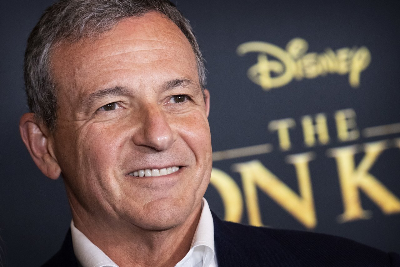 迪士尼執行長鮑勃·伊格爾(Bob Iger)。 歐新社資料照