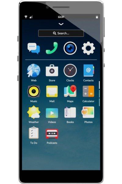 ▲ Librem 5的外型與一般智慧型手機相近,但它卻是採用Linux體系的Pu...