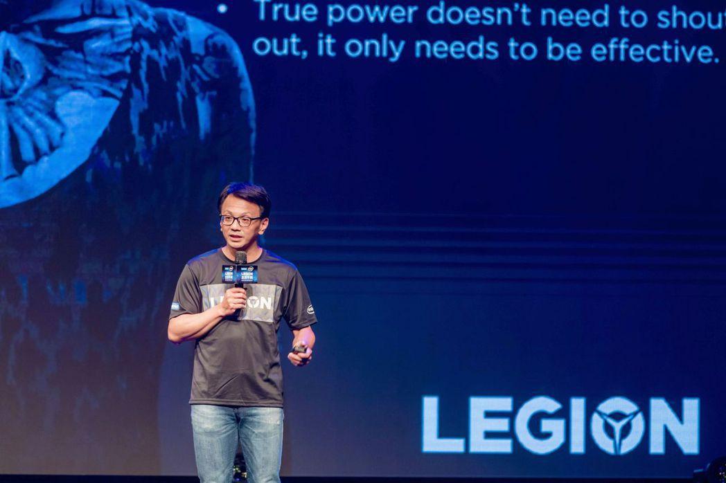 Lenovo台灣區總經理林祺斌表示:「Lenovo電競品牌Legion預估201...