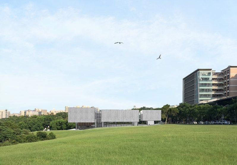 清華大學「謝宏亮現代美術館」模擬圖。圖/清大提供