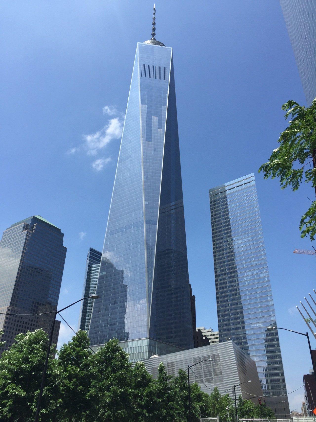 紐約世貿中心一號大樓。取自維基百科