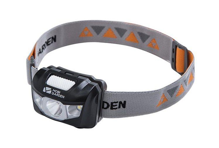 電池裝LED頭燈,天貓官方售價約新台幣500元,運費另計。圖/天貓提供