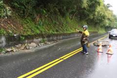 宜蘭地震後颱風來 蘇花等山區省道不排除預警性封閉