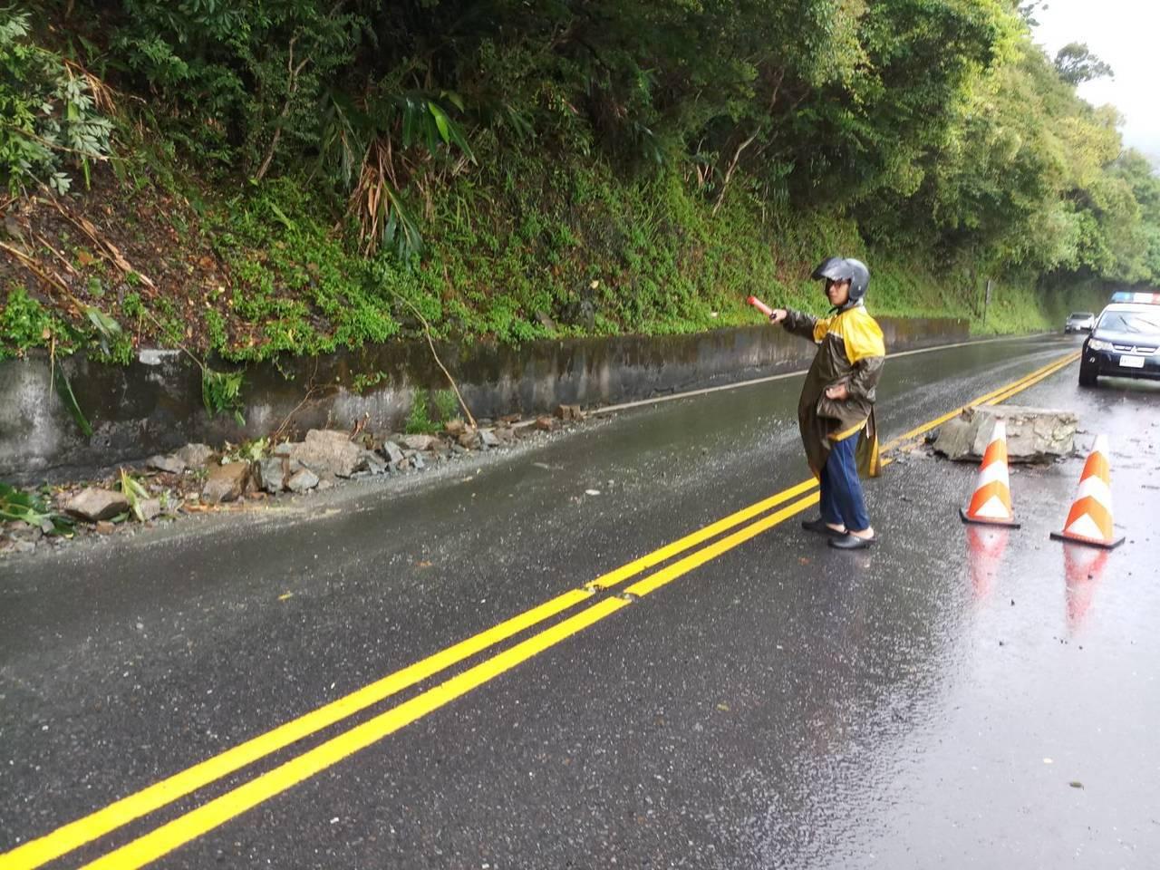 利奇馬颱風來襲,交通部公路總局第四區養護工程處宣布,將視風雨狀況,宜蘭山區省道公...
