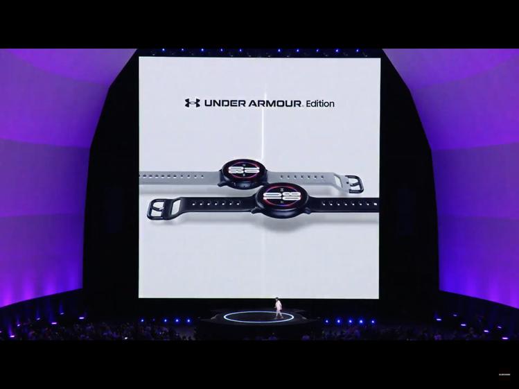 三星宣布將推出Galaxy Watch Active2 Under Armour...
