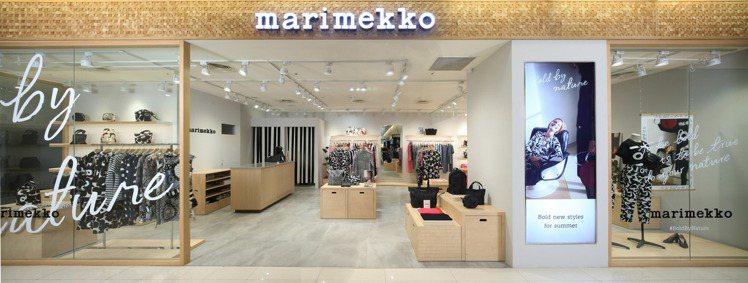 Marimekko台中大遠百全新形象概念店。圖/Marimekko提供