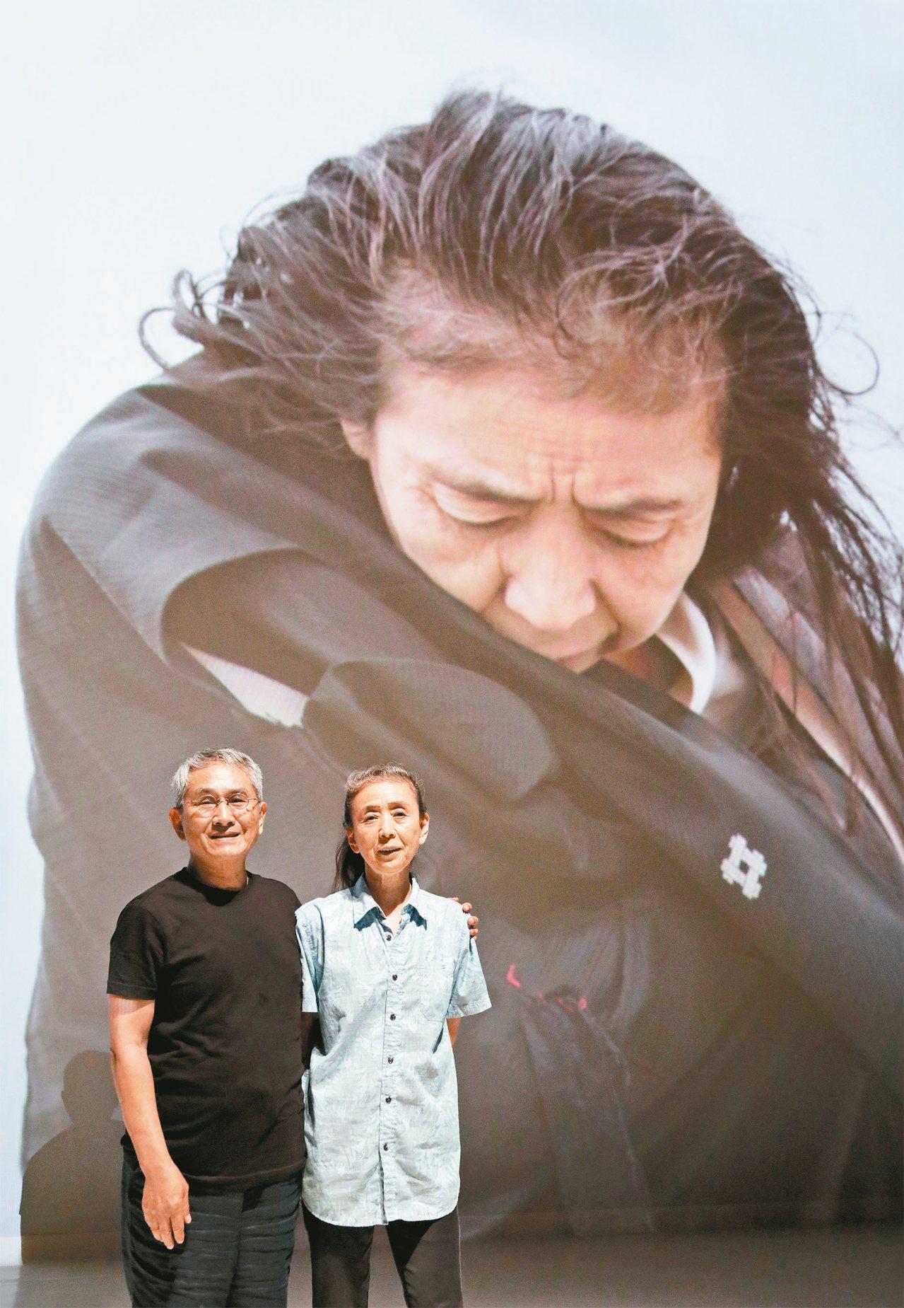 林懷民(左)和尾竹永子合照。 圖/雲門提供