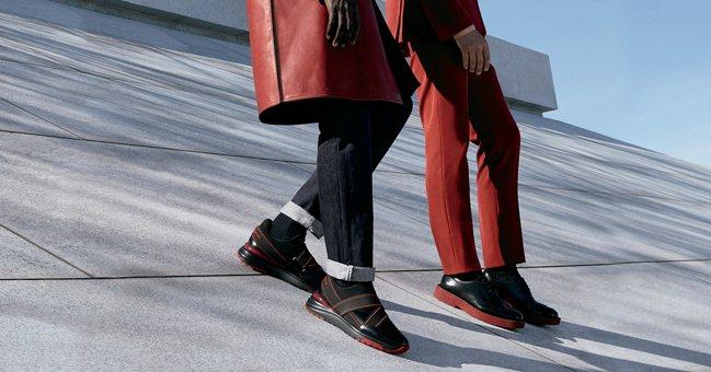 Salvatore Ferragamo推出全新Hybrid男鞋系列。 圖/Sal...