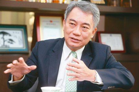 台新證券董座郭嘉宏領軍打造新經營藍圖。 徐兆玄/攝影
