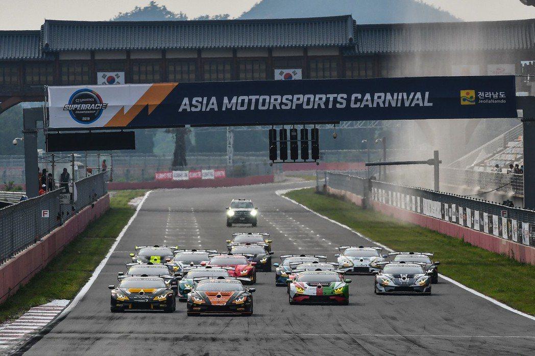 Lamborghini Super Trofeo Asia亞洲挑戰賽首度登臨韓國...