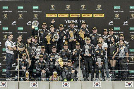 Lamborghini Super Trofeo Asia 亞洲挑戰賽韓國站 臺灣強將陳意凡再獲本賽季Pro組第五勝!