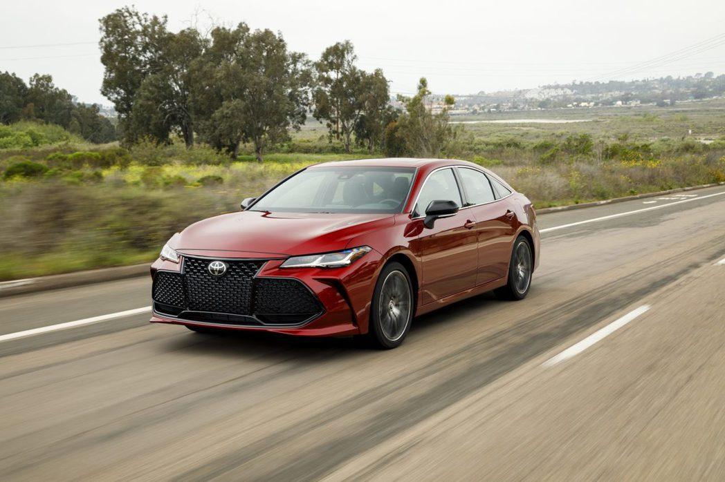 Toyota Avlaon上半年於北美出現23.8%的大幅度衰退。 摘自Toyo...