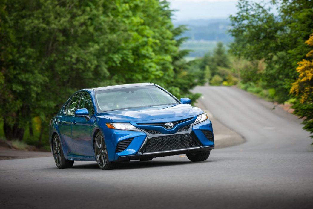 Toyota Camry即便銷售出現小幅下滑,但其仍是今年上半年品牌最暢銷房車。...