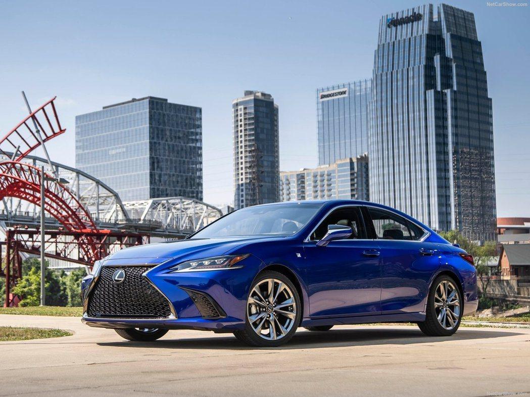 新世代美規Lexus ES。 摘自Lexus