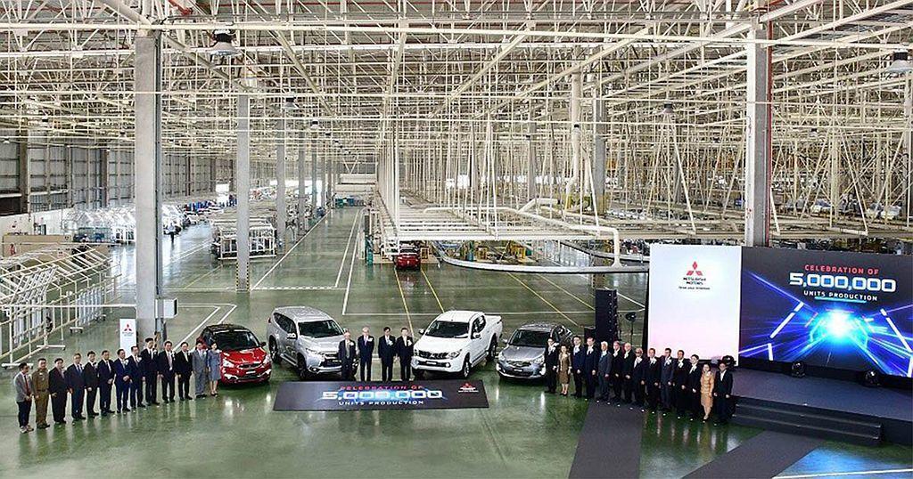 三菱汽車泰國分公司已經擁有三個新車生產廠、一個引擎組裝廠、員工數量也達7,000...