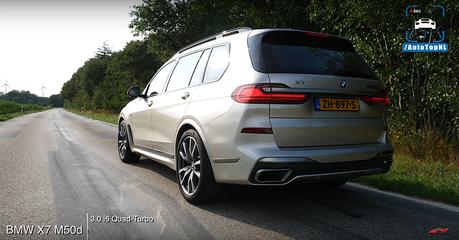 2噸重七人座休旅加速這麼猛!BMW X7 M50d不只省油而已!
