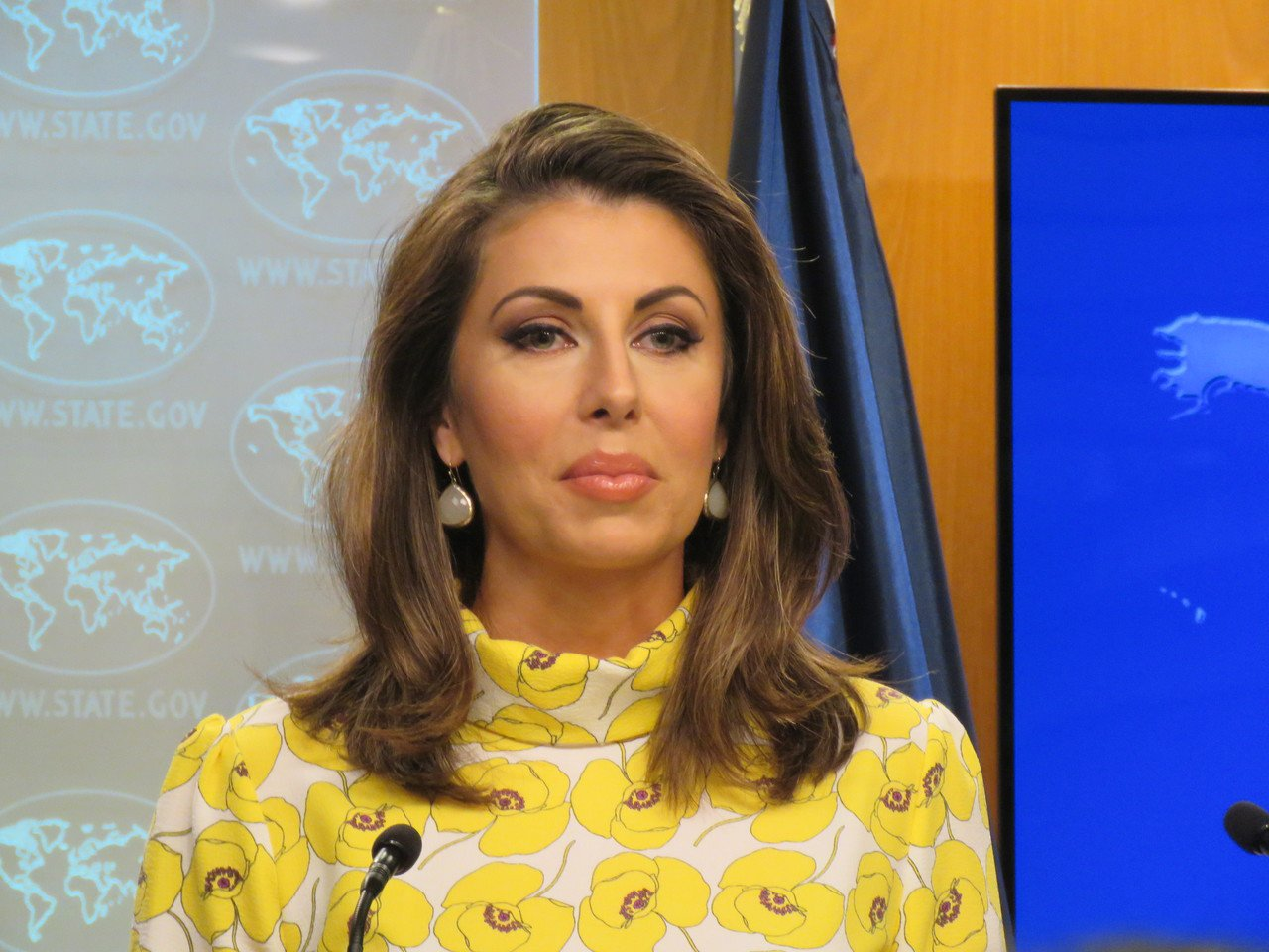 美国国务院发言人欧塔加斯。 本报资料照片