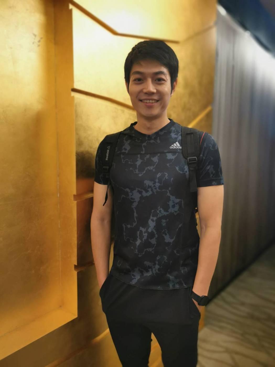 李沛勳擁有精壯身材。圖/年代提供