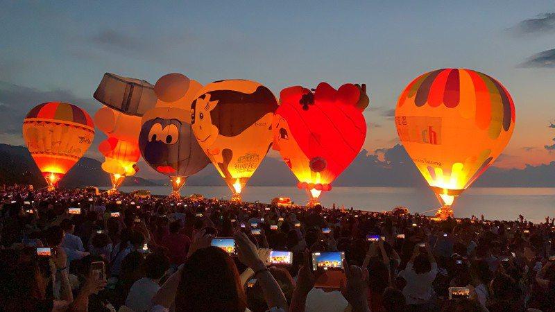 台東縣政府宣布,原訂8月10日在大武舉行的光雕音樂會,延期至8月24日清晨4點舉行。圖/台東縣政府提供