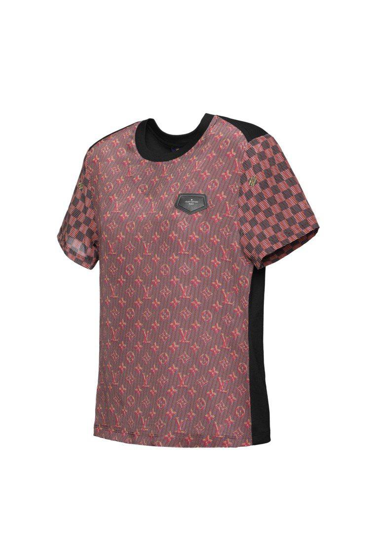 快閃店全球獨賣LV Pop T恤,售價25,000元。圖/LV提供