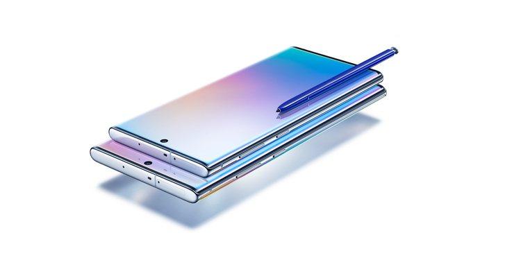 三星Galaxy Note10系列主視覺以星環銀為主打,只有它搭配了撞色S Pe...