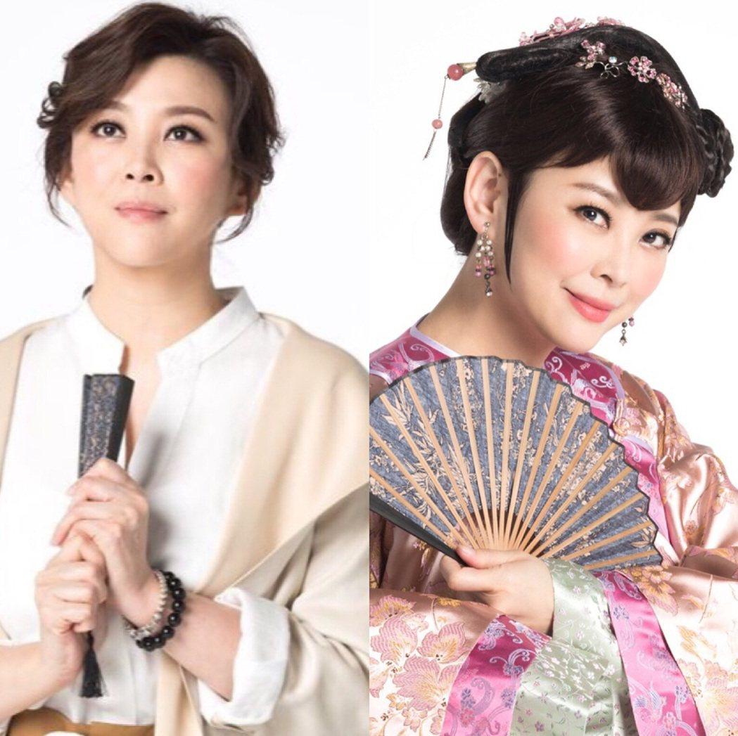 方馨首戰音樂劇「女人心」,劇中演出清裝、現代兩角色。圖/方馨提供