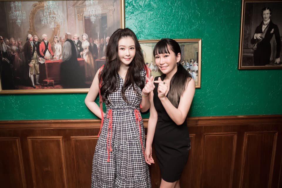 蕭淑慎(左)近況曝光,卻被網友質疑「變臉」到認不出,她霸氣回應。圖/幹大事娛樂提