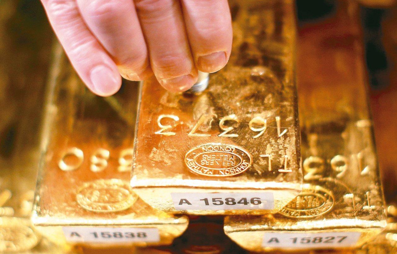 國際金價每英兩漲破一五○○美元大關,來到逾六年高價區。(路透資料照片)