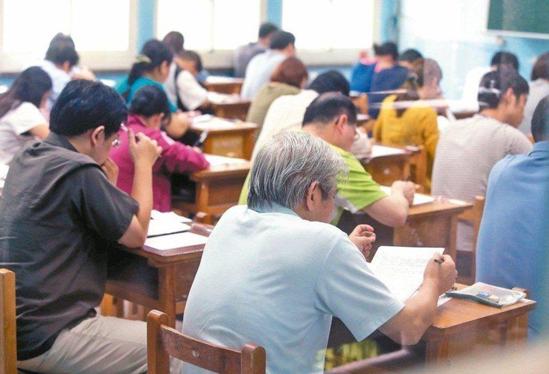 原PO好奇公行系畢業考取「高普考」的一般行政職是不是很吃香。 圖/聯合報系資料照片