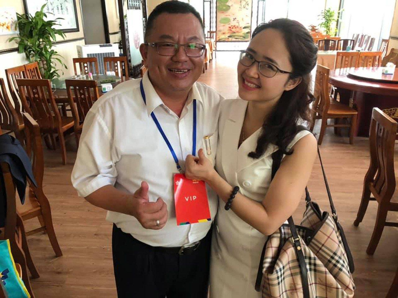 昇裕工程公司董事長洪志華(左)從軍職退伍後,選擇留在越南打拚,至今不到10年已是...