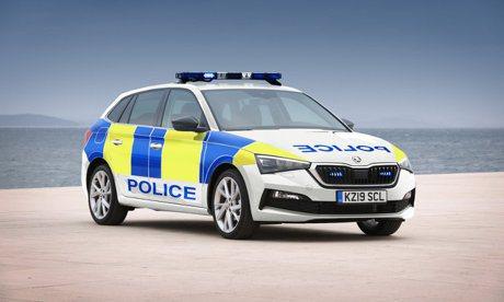 英國警察很愛ŠKODA? 全新掀背車Scala加入警隊行列!