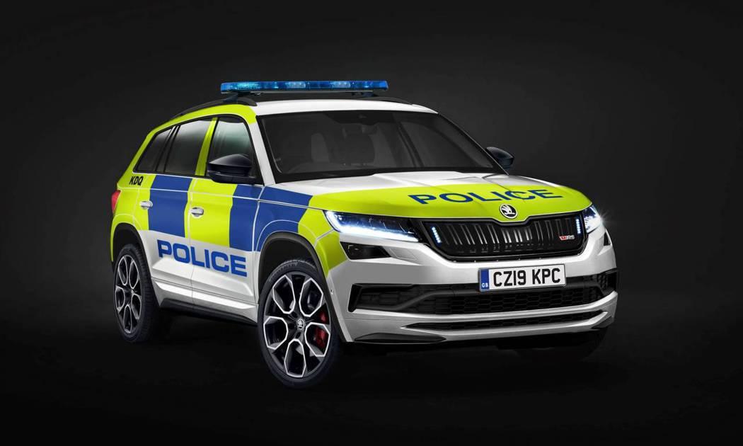 ŠKODA Kodiaq RS 英國警車。