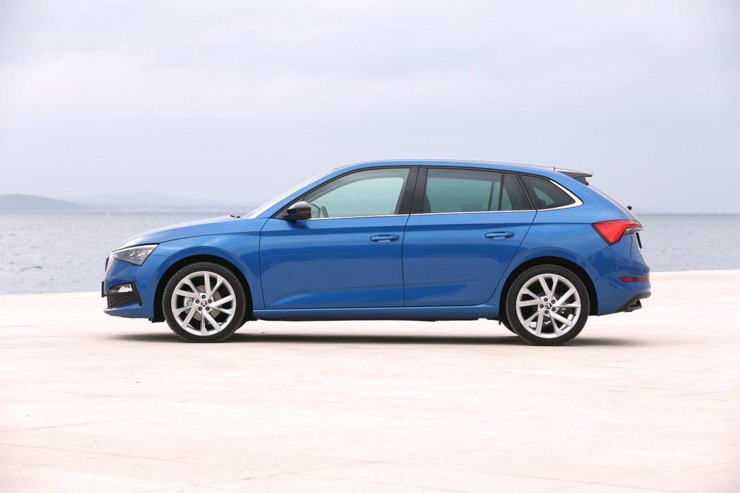 全新ŠKODA Scala是品牌首輛搭載Volkswagen集團的MQB A0模...